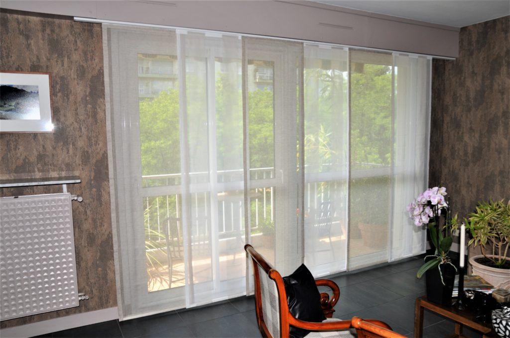 tapissier lyon decorateur ruf panneaux japonais tissu confection sur mesure