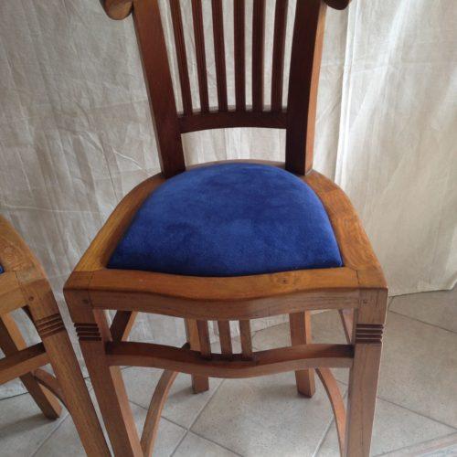 tapissier lyon decorateur ruf limonest restauration fauteuil meuble fauteuil chaise tabouret bar teck alcantara