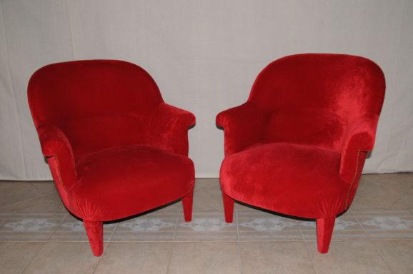 tapissier lyon décorateur maison ruf limonest restauration fauteuil crapaud décoration
