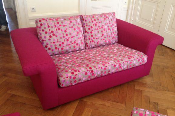 tapissier lyon décorateur maison ruf limonest restauration fauteuil canapé banquette décoration