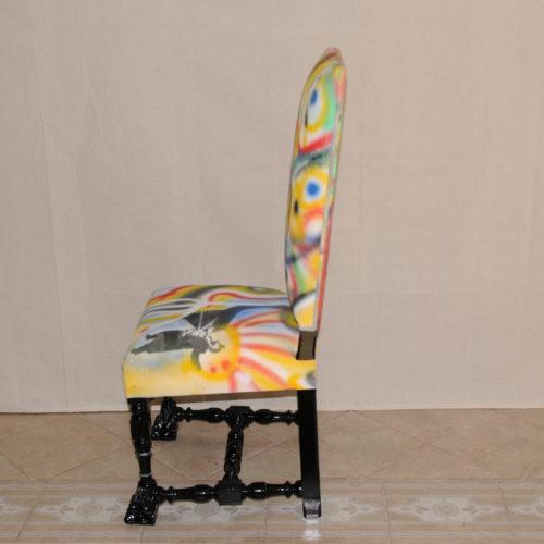tapissier lyon décorateur maison ruf limonest restauration fauteuil creation street art décoration