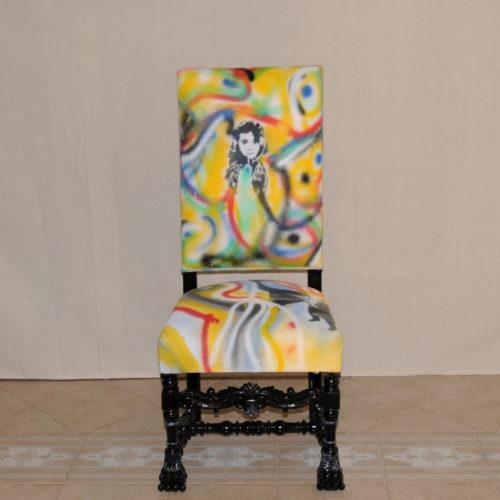 tapissier lyon décorateur maison ruf limonest restauration meuble fauteuil chaise creation street art décoration