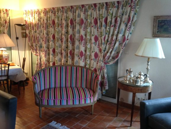 tapissier lyon décorateur maison ruf limonest restauration meuble rideau sur mesure embrasse magnétique décoration