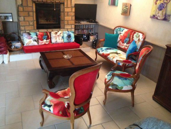 tapissier lyon décorateur maison ruf limonest restauration meuble fauteuil chaise creation louis philippe décoration