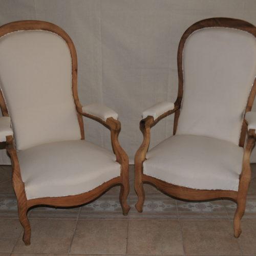 tapissier lyon décorateur maison ruf limonest restauration meuble fauteuil chaise contemporain design voltaire décoration